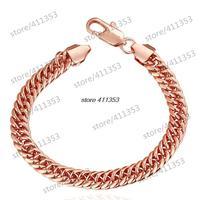 B107-B Good Quality Nickle Free Antiallergic 2014 New Fashion Jewelry 18K Gold Plated Bracelets