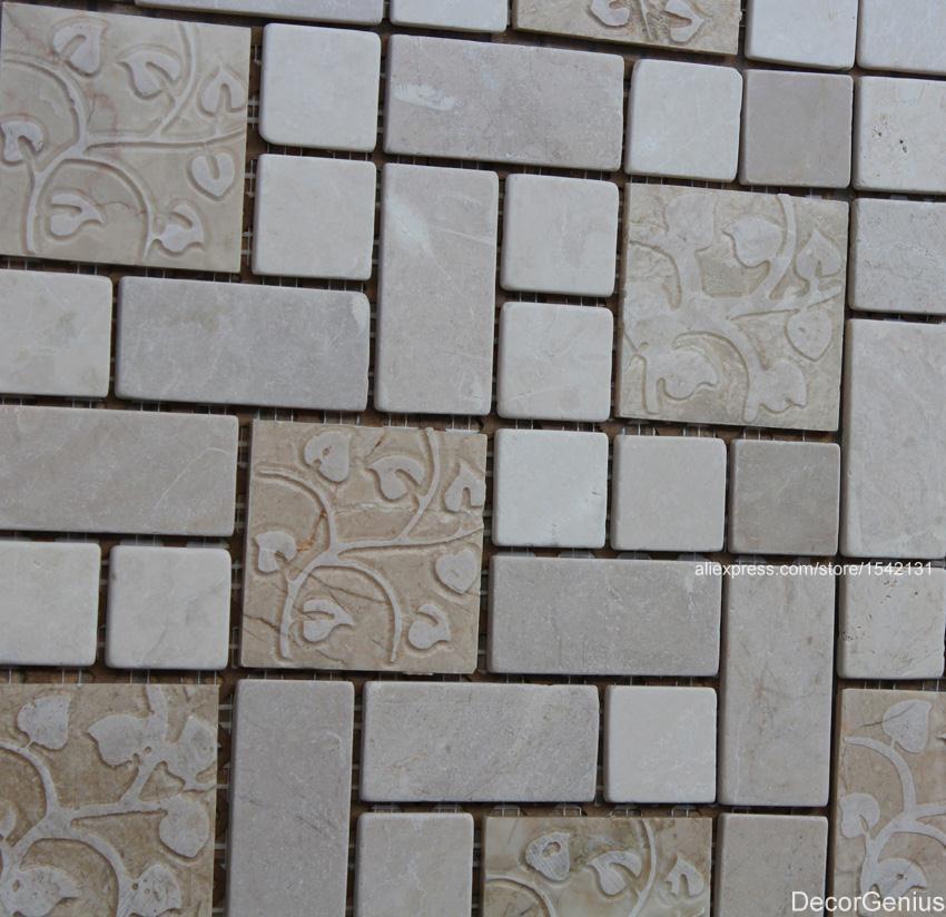 Online kopen Wholesale gesneden mozaïek tegels uit China gesneden ...
