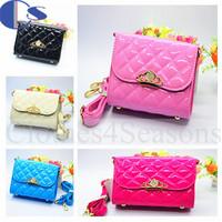 Mini Candy Color PU Shoulder Bags For Child Kids  Princess Girls Accessories Sac Designer Fashion Kids High Quality 2015