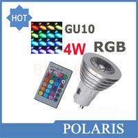 AC  85-265V Colorful LED RGB 5W GU10/GU5.3/E27/E14/MR16 Light Bulb Lamp Spotlight with Remote Control ~v