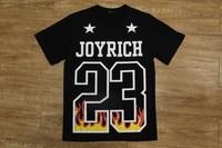 Men Casual T-Shirt Letter Flame Print Men's Tee shirt High Quality Oversized TShirt Size M-3XL Yeezus Pyrex