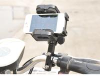 Universal Motorcycle  U bolt handlebar mount  phone  holder 360 swivel  For  iPhone GPS  mp3 iPad PDA