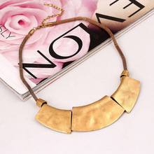 Vintage NecklaceJewelry For Women 4Colors Alloy Choker Statement Short Collar Necklaces Female Fashion Jewlery XHP079