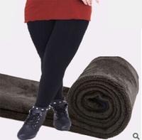 2015 New Spring and Autumn king size  5XL 90kg Women leggings winter plus velvet women's pants cashmere fat female trousers