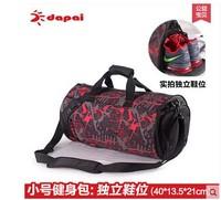 Exercise shoulder bag travel bag portable cylinder fitness training men and women basketball bag Crossbody Bag