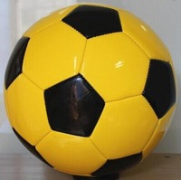 Official size 5 PU leather soccer balls free shipping with gifts