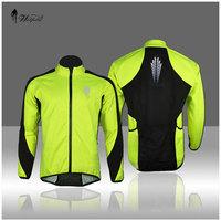 Men's Thermal Cycling Fleece Jacket Sportswear,Men Bike Clothes Reflective Jersey Long Sleeve Winter Jacket Bicycle Clothing