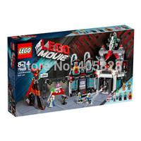 Original Brand Lego Blocks Bricks Learning Educational Models & Building Classic Toys 70809 MOVIE Series Lord Business Evil Lair