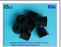 200pcs/lot black silicon rubber part wine bottle stopper accessories parts DIY