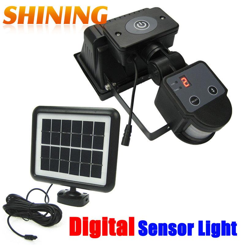Solar motion sensor Sicherheit Licht