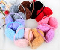 New Adult Women Earmuffs Fashion Winter Ear Muffs Ear Package Warm Thickening Plus Velvet Fur Earmuffs Free Shipping