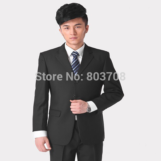 Men's business suits male professional suits factory outlets(China (Mainland))