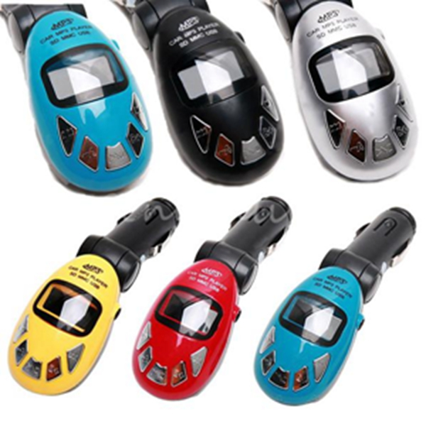 5 Color Foldable USB SD MMC Card Slot Car Auto Kit Cigarette Wireless Radio Music MP3 Player FM Transmitter Modulator W/ Remote(China (Mainland))