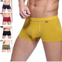 Mens Low Rise Underwear Brief Trunk Cuecas Boxer Shorts Modal Cotton Sex Underwear Men Cuecas Sunga