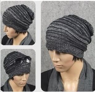 Winter hat winter wool cap male models Korean version Melaleuca Ms. color knit cap wholesale manufacturers A-13(China (Mainland))