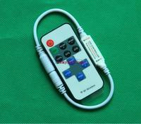 RF Remote dimmer DC12V 72W white led strip dimmer 9key DC mini led dimmer