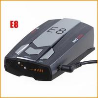 E8 Radar Detector  360 Degrees Car Detector With X/K/KA/Ultra-X/Ultra-K/Ultra-KA/VG-2 English/ Russian Voice Super Anti Radar