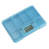 3 pcs/Lot  _ LCD Digital Pill Medicine Case Box Alarm Reminder Container Timer