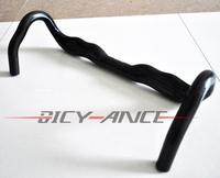 Specials!Full Carbon Fiber Road Bike Handlebar highway bicycle handle Carbon Road Handlebar 400/420/440mm