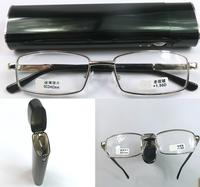 Long lighter box Coating Long pencil glasses men women reading glasses +1.00+1.50+2.00 +2.5+3.0+3.50+4.0