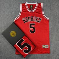 Classic Comic SLAM DUNK Shohoku High School KOGURE Basketball Jersey With Original Box Number 5 KOGURE Basketball Jersey