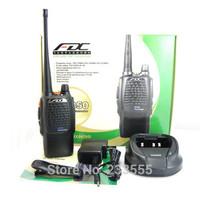New Black Walkie Talkie UHF 400-480MHz 5W 99CH FD-850A IPX6 CTCSS/DCS Handheld Rainproof Two Way Radio