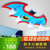 Free shippingEye saving LED lamps aircraft boy children's room bedroom creative cartoon Batman Ceiling decorations free shipping