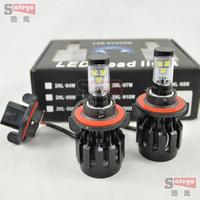 6000LM 60w cree H13 led headlight lamp Hi/Lo car auto led headlight Intergrated led headlight bulb LED Fog Day Light Lamp Bulb