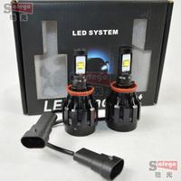 60W Cree H8 H11 LED car headlight 6000LMled headlights car LED headlight Auto headlamp bulbs 6000LM LED Fog Day Light Lamp Bulb