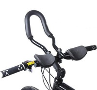 Black Cycle Bike Bicycle Mountain Relaxation Rest assistant Handlebar Bar