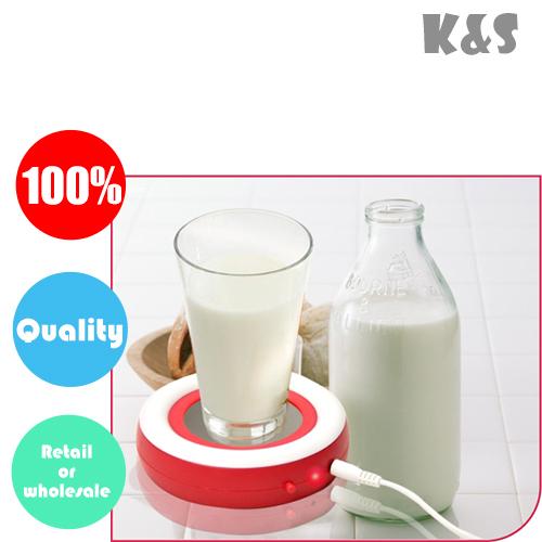 Retail or Wholesale USB electronic warmer Cup Mug Warmer Coffee Tea Drink Heater Free shipping creative funny birthday gift(China (Mainland))