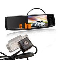 4.3 inch Car Rear View Mirror Monitor + Special Car Camera for Mondeo SMAX Carniva