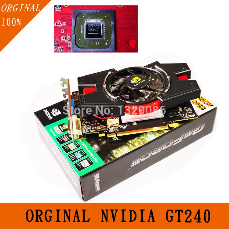 orginal nvidia video card geforce gtx placa de video graphics card gt240 video cards pci express ddr5(China (Mainland))
