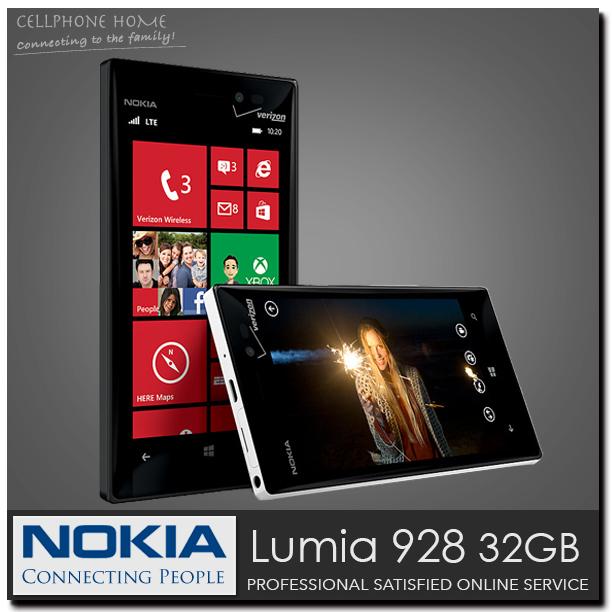 "nokia 928 Unlocked Original Windows Mobile 8.0 Nokia Lumia 928 CDMA Phone 32GB Dual Core 4.5"" 1280x768px 8MP WIFI Cell Phones(China (Mainland))"