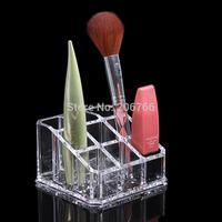 Free Shipping Acrylic Lipstick Holder Make-up Display Rack Cosmetics Storage Box