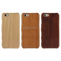Lightweight Left Hand Grasp Design Rosewood Wooden Case for iPhone 6