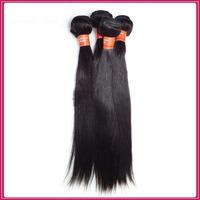 6a grade brazilian virgin hair straight human hair weave straight