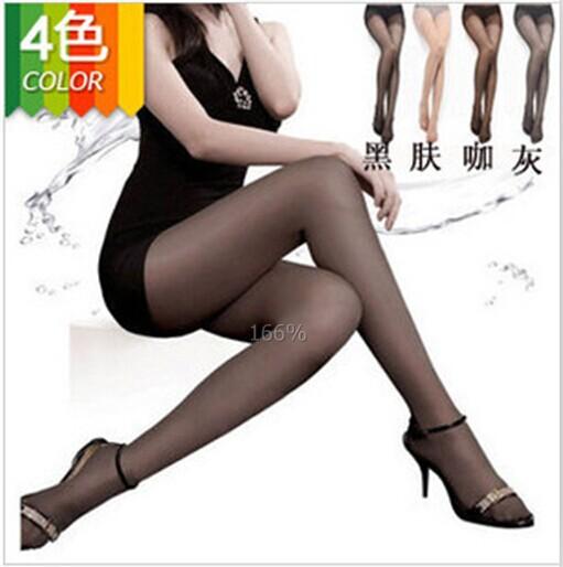 4 пар 4 цвета сексуальные женщины тонкие отвесные колготки чулок трусики колготки 15L