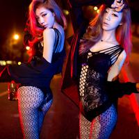 Angle LX Open cup Black Sexy Lingerie Hot Women's Erotic dress clubwear Sleepwear Night Club Dresses lingerie Plus size