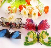 Luminous butterfly fridge magnet magnetic simulation luminous butterfly