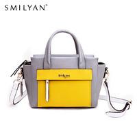 Smilyan women messenger bags genuine leather bolsas femininas desigual bag famous brands handbag designer handbags high quality
