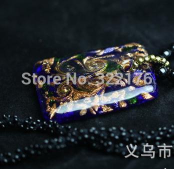 [ Life Art ] 25pcs/lot bohemia Beads long coloured glaze sweater chain Drop Shipping Fashion 2015 new design Jewelry wholesale(China (Mainland))
