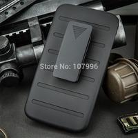 Black Case Holster Case For LG G2 Armor Combo Protector Case for LG D801 D802 LS980 Protective Cover Case With Belt Clip