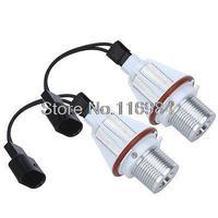 2pcs x White CREE 7W LED Angel Eye halo Bulb Light For E39 E63 E64 E65 E66 E83 E87