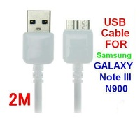 Hot Sale 3.0 USB Data Transfer Charger Sync Mobile Phone Cable For Samsung Galaxy Note 3 III S5 N9000 N9002 N9006 Length: 2M