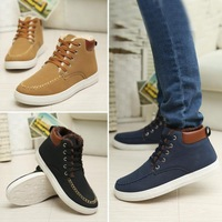 Winter Shoes Warm Men Shoes Sneakers with Fur New Men's Sneakers Comfortable Casual Shoes Size 39-44
