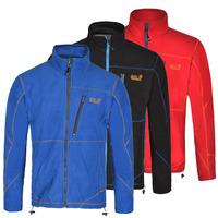 2015 new winter outdoor men hiking camping jacket windstopper waterproof fleece thermal softshall jacket ski coat WOLF35