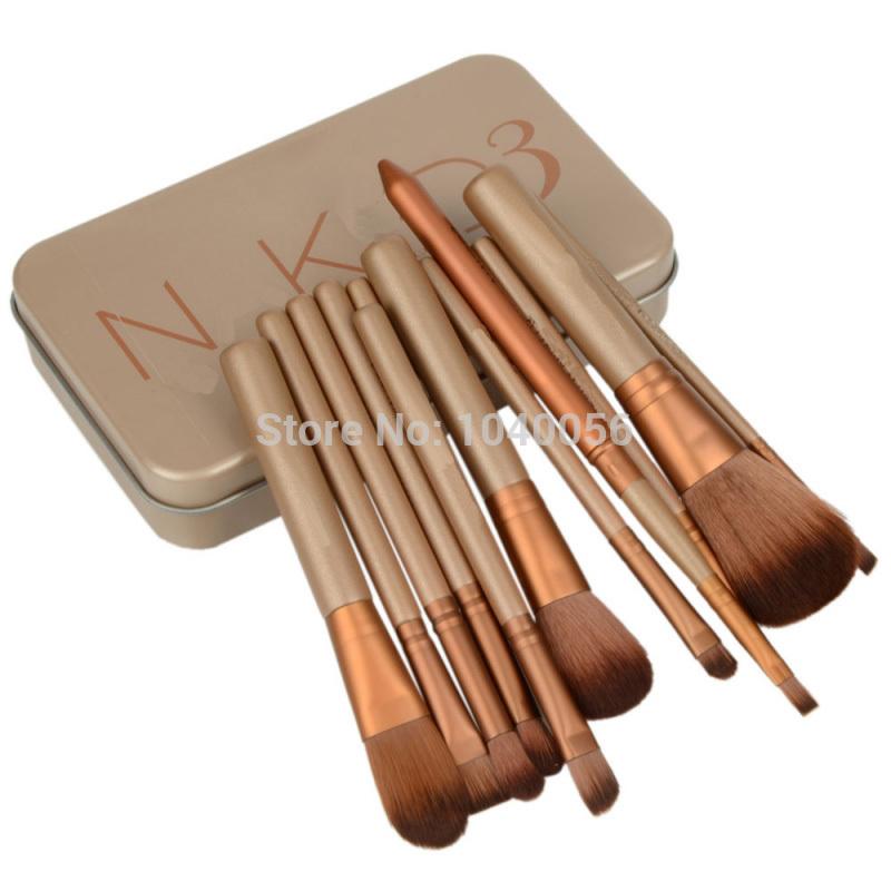 12 шт. nake 3 кисть, Nk3 щетки комплект комплект для теней румяна косметический кисти инструмент