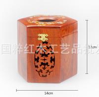 Hua limu tissue box Annatto smoke box Hua limu smoke box Hexagon smoke box