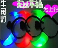 Hot Selling Animal Glow Lights Toys LED Flash Angel rotor led toy gift chrismas night light,flashing children toy, party toy